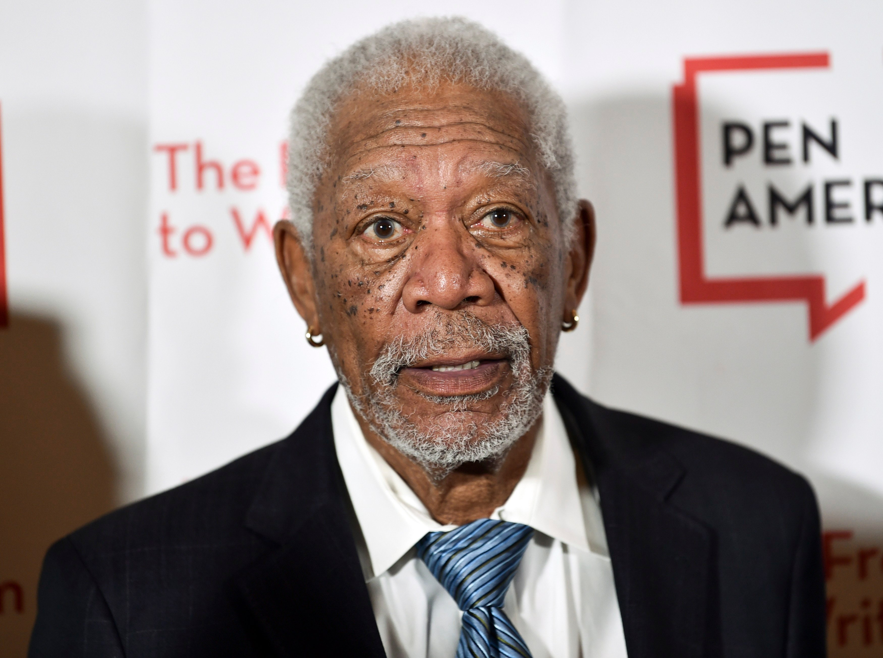 Actor Morgan Freeman attends the 2018 PEN Literary Gala at the American Museum of Natural History on Tuesday, May 22, 2018, in New York. (Photo by Evan Agostini/Invision/AP)