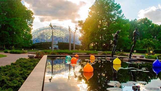 Missouri Botanical Garden. Credit: KMOV