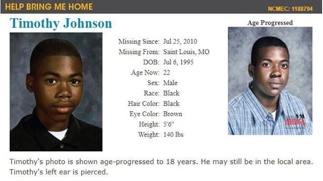 Timothy Johnson (Credit: National Center for Missing & Exploited Children)