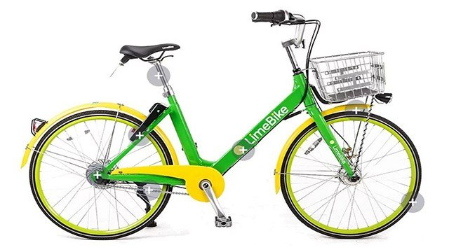 LimeBike is offering Lime Access members 100 rides for just $5 if you qualify for their low-income program. (Credit: Lime Bike)