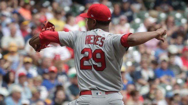 Cardinals pitcher Alex Reyes goes on DL with lat strain