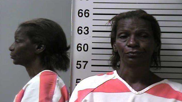 Lettie Rosenthall, 62, was charged in connection of a double stabbing in Alton, Illinois ( Credit: Alton Police )