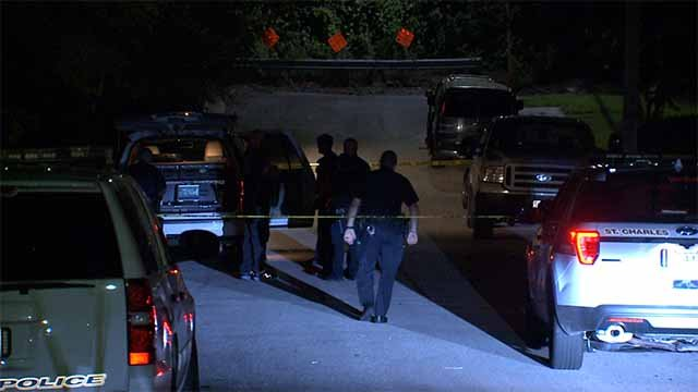 Police said a man was found fatally shot on a front porch in St. Charles Tuesday night. Credit: KMOV