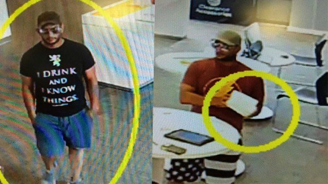 Town and Country Police are searching for man involved in a phone store robbery that took place at two separate stores. (Credit: Town and Country PD)