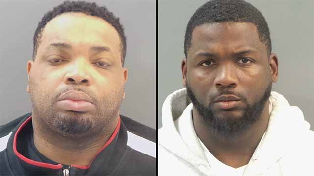 Court documents reveal that Lamonte Brown, 34, and Jason Holmes, 38, had their GPS monitoring bracelets cut last Friday. Credit: SLMPD