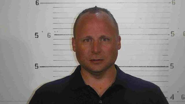 Jeffrey Grandcolas, 39, of Troy, Illinois is charged with false impersonation of an officer. Credit: St. Clair County PD