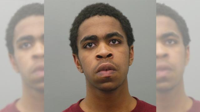 Cameron Morris, 20, is accused of robbery, armed criminal action and resisting arrest (Credit: St. Louis County Police)