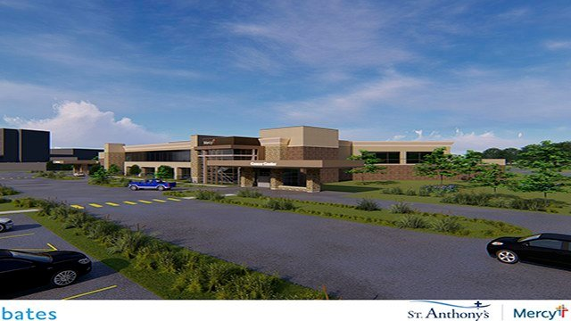 St. Anthony's Medical Center will be opening an addition on-campus cancer center along with the construction of nine Mercy clinics across various local areas. (Credit: St. Anthony's Medical Center)