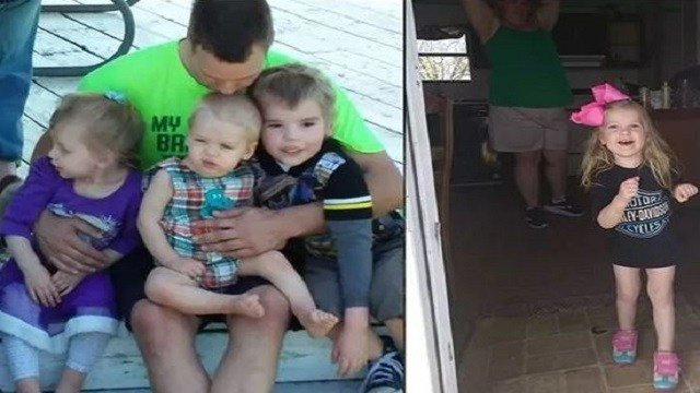 Kelley Hunt is the father of three of the child victims killed in Wednesday's fire in Lebanon, Mo. (Credit: KMOV)
