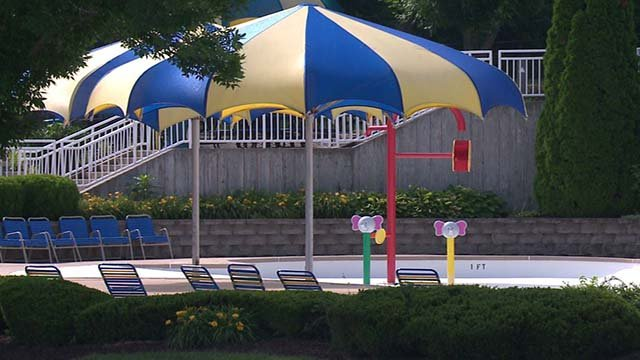 Aquaport is set to reopen sometime this weekend. (Credit: KMOV)
