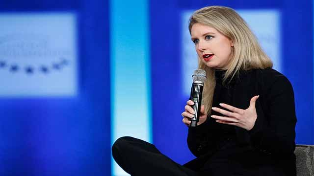 heranos founder Elizabeth Holmes has been indicted on federal wire fraud charges Friday ( Credit: CNN)