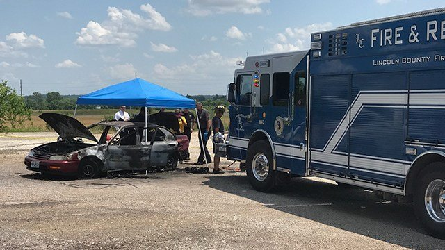Troy Police are investigating the incident along with the Lincoln County Fire Department. (Credit: KMOV)