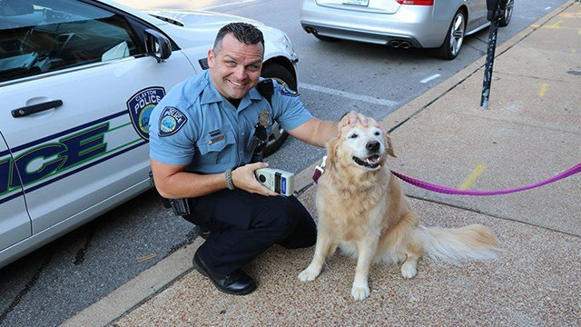 The Clayton Police Department has gotten their paws on a new tool to help reunite lost pets with their owners. (Credit: Clayton Police Department)