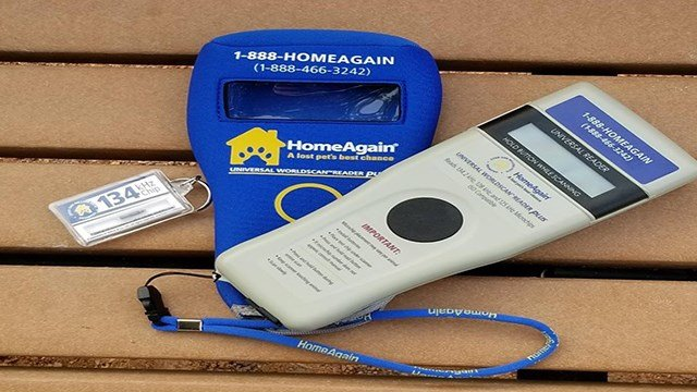 Officers in Clayton received a universal microchip scanner to reunite owners with their lost pets