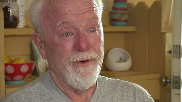 Gary Lee mourns the loss of his son who was allegedly gunned down by a neighbor. ( Credit: KMOV)