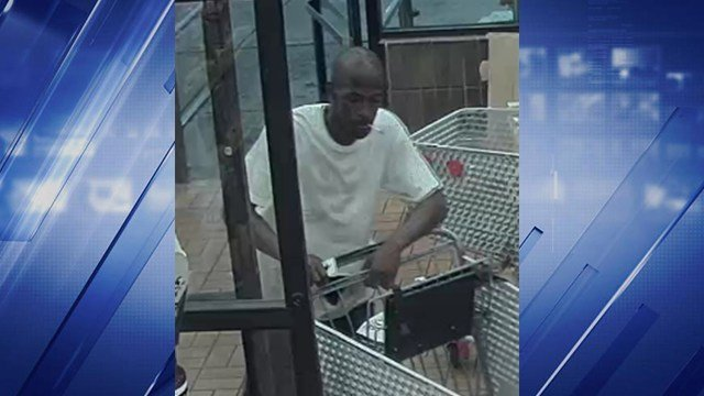Detectives are asking for the public's help identifying this man who they believe forced a woman into her own car and her empty bank account at a nearby ATM. (Credit: SLMPD)
