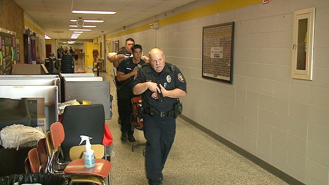 Monday emergency officials in St. Charles County were training for potential active shooter situations. (Credit: KMOV)