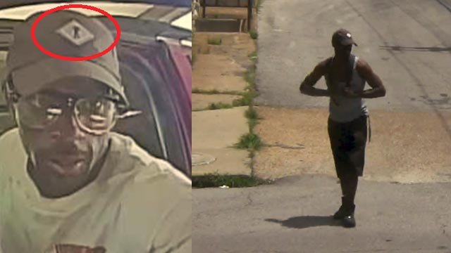 Detectives are searching for this suspect in connection with multiple armed robberies and kidnappings (Credit: St. Louis Police)