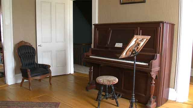 Inside the Scott Joplin House. Credit: KMOV