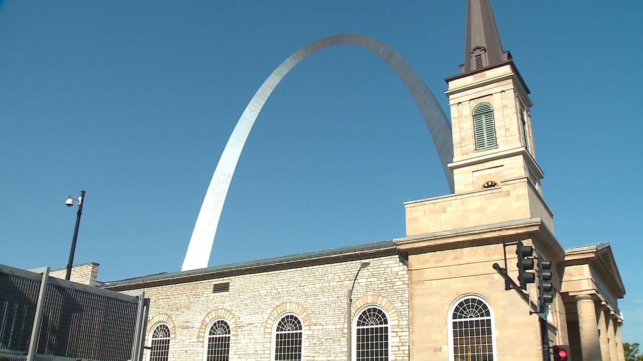 The 2018 Fair St. Louis celebration takes place on the Arch grounds. (Credit: KMOV)