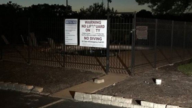 A 12-year-old boy drowned while swimming at a pool at a North County apartment complex. ( Credit: KMOV)