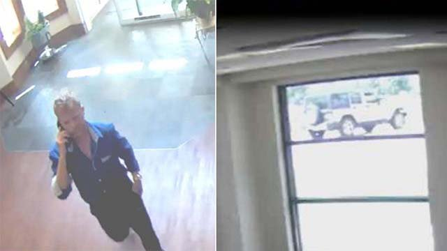 Sunset Hills Police are searching for a man accused of breaking into an apartment and stealing jewelry. (Credit: Sunset Hills PD)