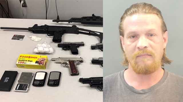Police arrested Gene Cumberland for allegedly having two illegal guns and a live pipe bomb. Credit: SLMPD