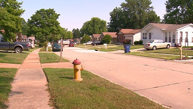 Homeowners in North County are uneasy after a suspected peeping tom is tormenting the neighborhood. (Credit: KMOV)