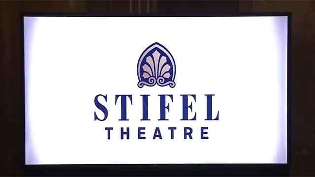 The Stifel Theater logo. Credit: KMOV