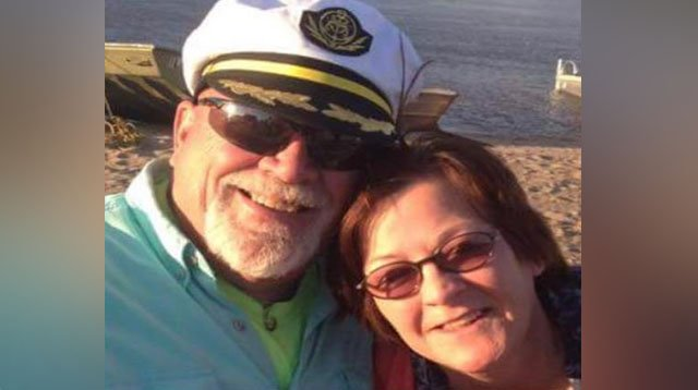 Dennis and Beverly Day were injured after a boat explosion in Grafton, Illinois ( Credit: KMOV)