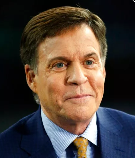 (AP Photo/Michael Ainsworth, File). FILE - This is a Dec. 18, 2016, file photo showing Bob Costas in Arlington, Texas. Costas is being inducted into the Baseball Hall of Fame in Cooperstown, N.Y., Sunday, July 29, 2018.