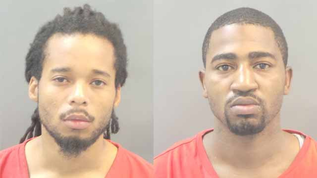 Antonio Steed, 33, andRalandus Lathon, 26, are charged with first-degree murder, armed criminal action and robbery. Credit: SLMPD