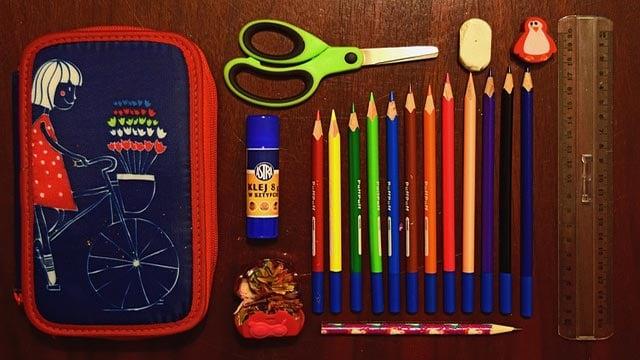 A pencil case (Credit: Pixabay)