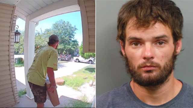 St. Peters police arrested 26-year-old Jacob Sivia and charged him with a misdemeanor count of theft. He's accused of stealing a package off the porch of a house in the Enwood Subdivision. Credit: St. Peters PD