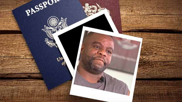 Robert Cotton says a clerical error means he can't get a passport. Credit: KMOV