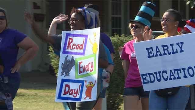 Ferguson-Florissant Back-to-School Parade. Credit: KMOV