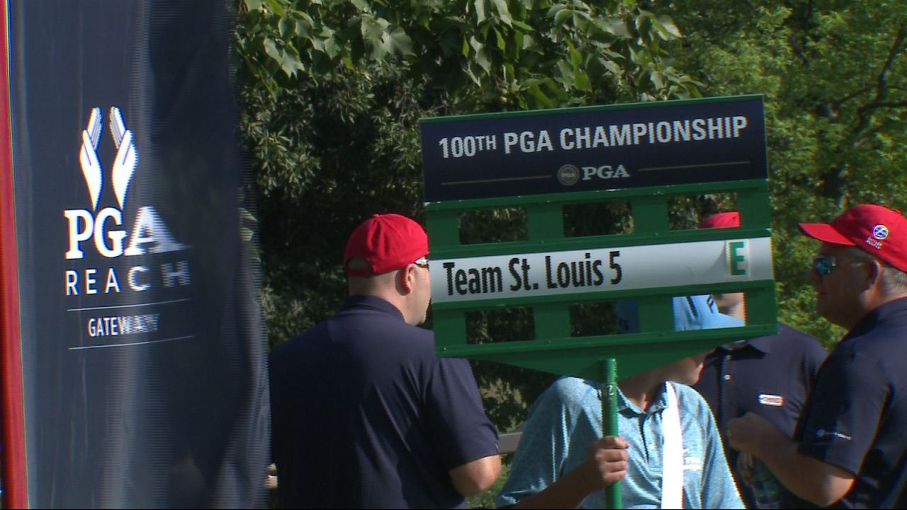People are preparing for the 100th PGA which starts Thursday