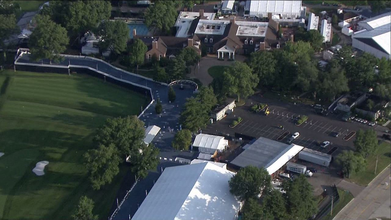 The Bellerive Country Club was opened in 1960. (Credit: KMOV)