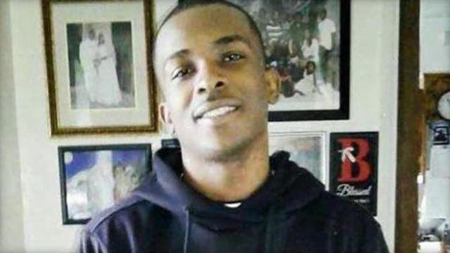 Stephon Clark in undated family photo (CBS News)