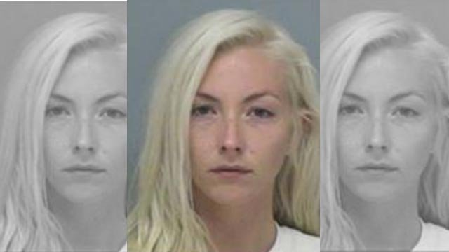 Caitlin Happach, 26, is accused in a fatal hit-and-run crash near Nashville, Illinois (Credit: ISP)