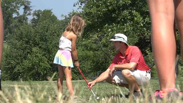 The Golf Foundation of Missouri makes golf accessible to all young men and women in the St. Louis area by providing free equipment, lessons and lunches four days a week, all summer long at Highland Golf Course in Forest Park. Credit: KMOV