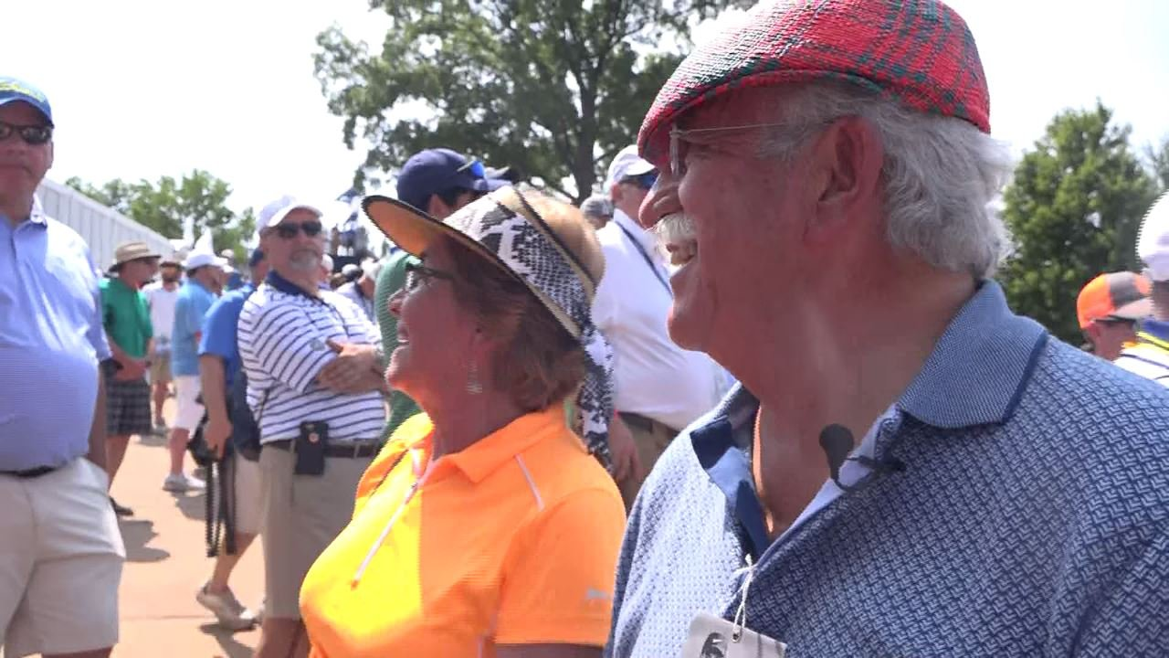 The Gomez family is from Guatemala, where they live on their own gold course. (Credit: KMOV)