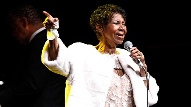 In this Nov. 7, 2017 file photo, Aretha Franklin attends the Elton John AIDS Foundation's 25th Anniversary Gala in New York. (Credit: Andy Kropa/Invision/AP, File)