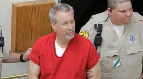Former suburban Chicago police officer Drew Peterson who was convicted of killing his third wife.
