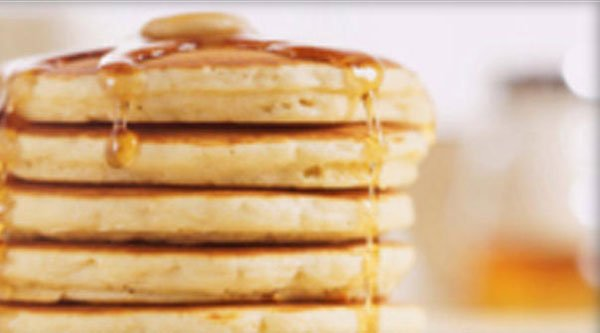 Generic image of a stack of pancakes