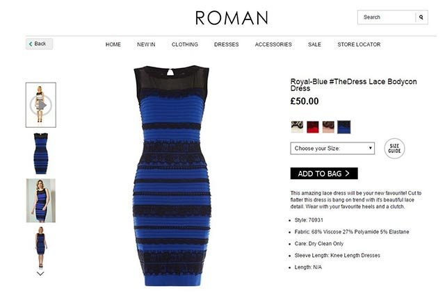A small British fashion company was basking in the limelight Friday after a debate about the color of one of its dresses went viral.