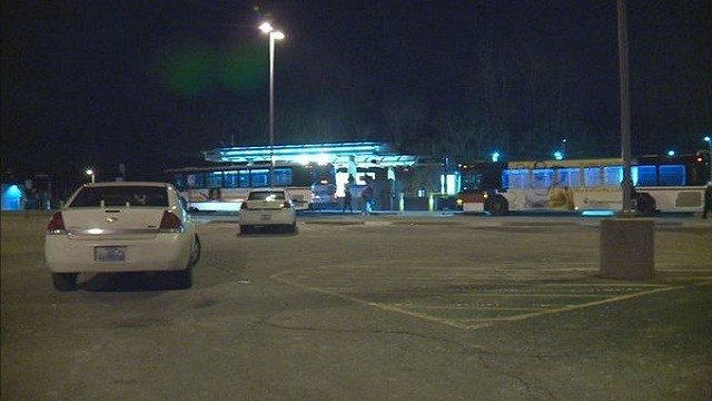Police are investigating a shooting near a Metro Link station.