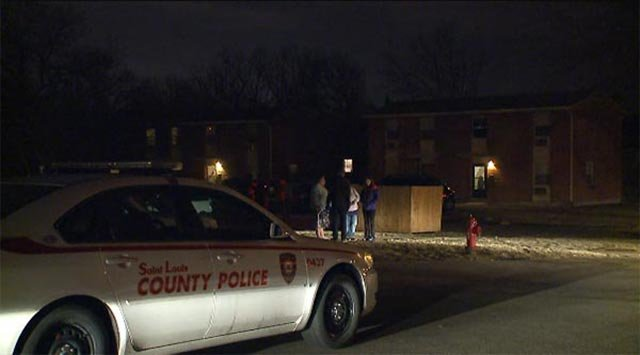 According to police, the officer arrived at a home in the 300 block of Shadwell Drive just before 8:00 p.m. after receiving a call about a possible domestic violence situation.  Read more: http://www.kmov.com/news/crime/295759091.html#ixzz3U0TDXBUu