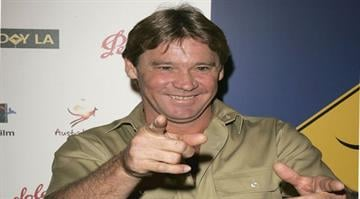 LOS ANGELES - JANUARY 14: Crocodile Hunter Steve Irwin arrives at the Penfolds Icon Gala presented by G'Day La: Australia Week 2006 at the Palladium on January 14, 2006 in Los Angeles, California. By Michael Buckner
