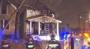 Firefighters battle house fire on Geraldine Avenue By KMOV Web Producer